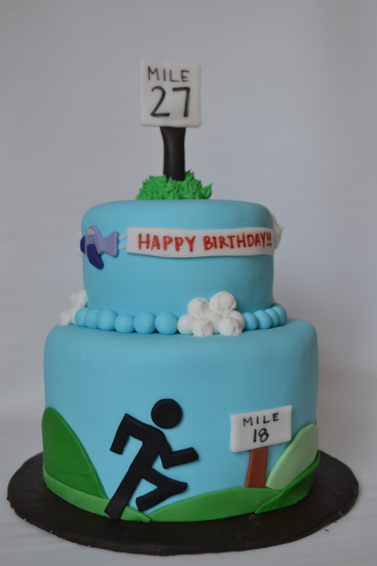 Birthday Cake Designs For Runners : 1000+ images about Running Cakes on Pinterest Running ...